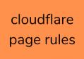 CloudFlare域名间301跳转
