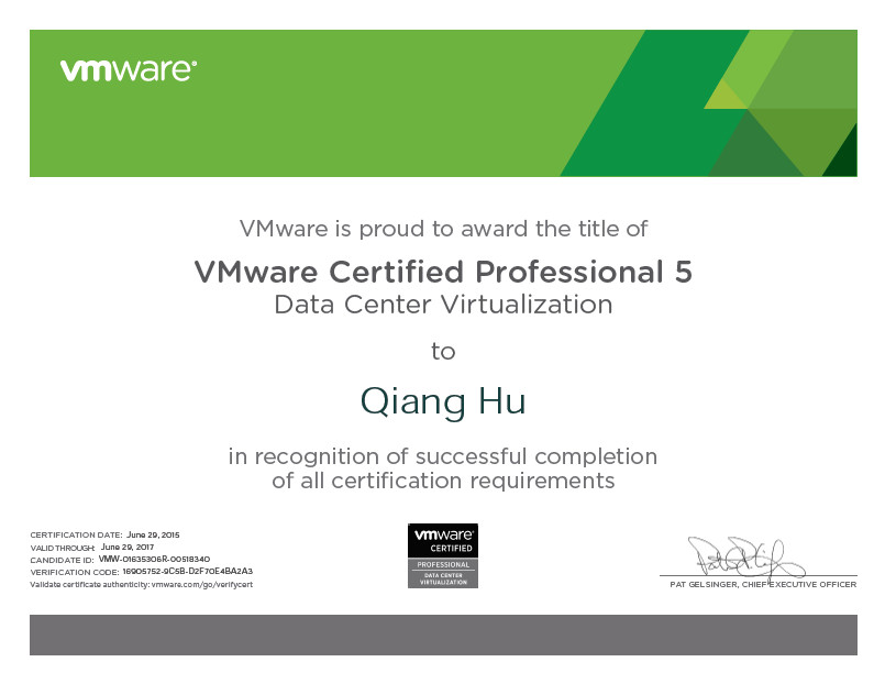 (VCP5-DCV) VCP-Data Center Virtualization