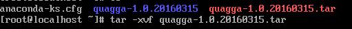 CentOS 7.2安装Quagga 1.0