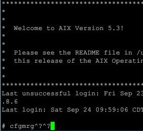 putty telnet连接AIX按backspace删除键变^?