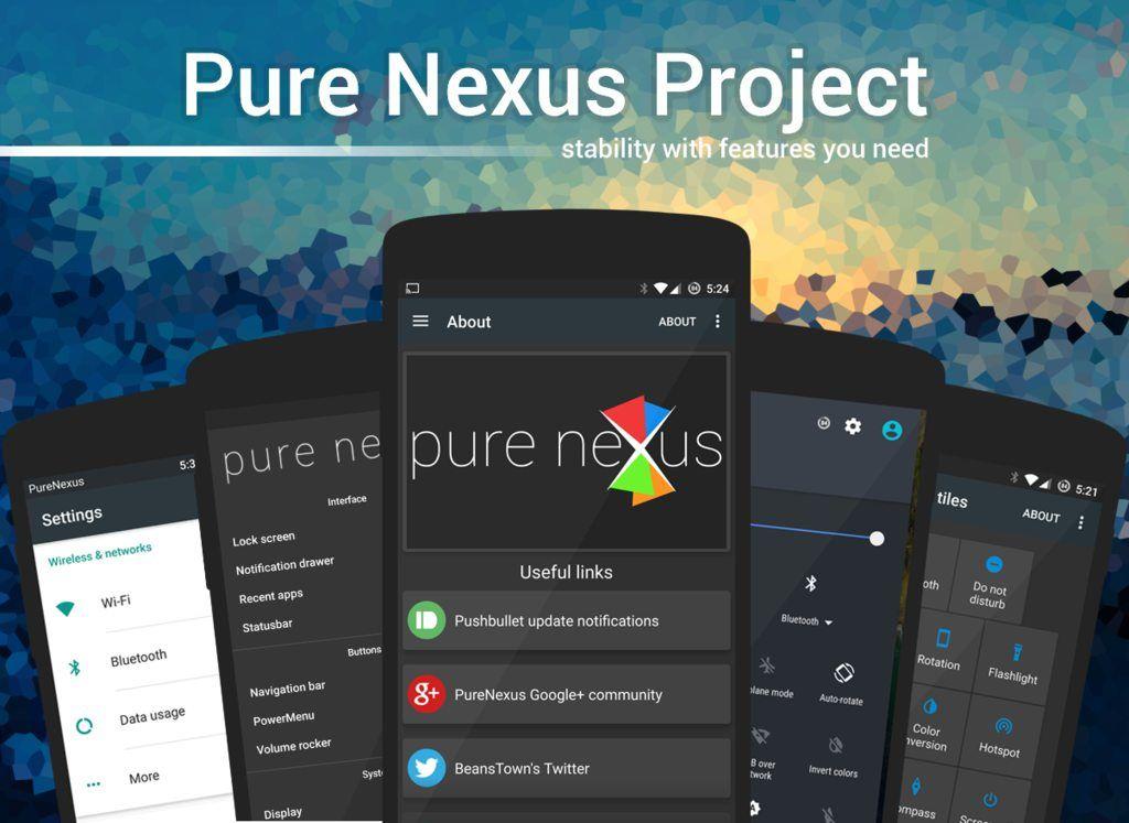 Nexus 5X刷Pure Nexus