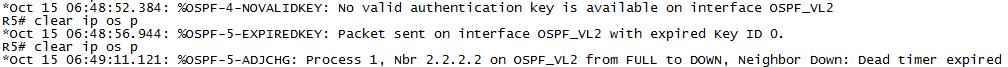 OSPF虚链路+链路区域认证