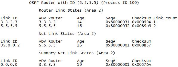 OSPF区域类型