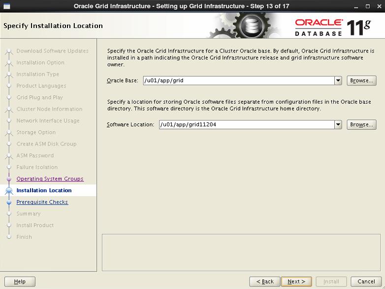 RHEL6.5 + Oracle11g + RAC + ASM