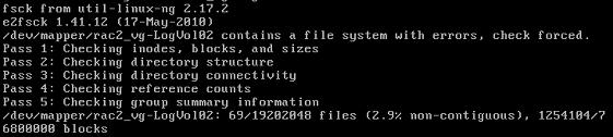 RHEL6.5修复LVM错误