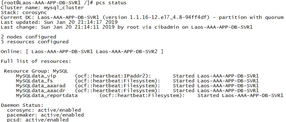 RHEL7.4 多台服务器使用pcs挂载共享LUN