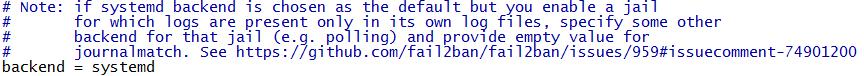 CentOS7 fail2ban+firewalld