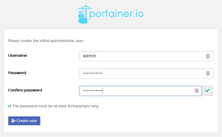 安装docker图形化管理工具Portainer
