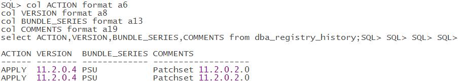 Oracle11gR2单机升级OPatch 打PSU补丁