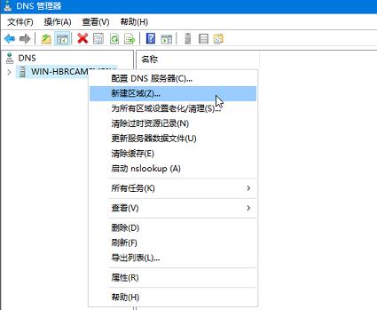 Windows Server2019 DNS服务为Oracle RAC解析SCAN