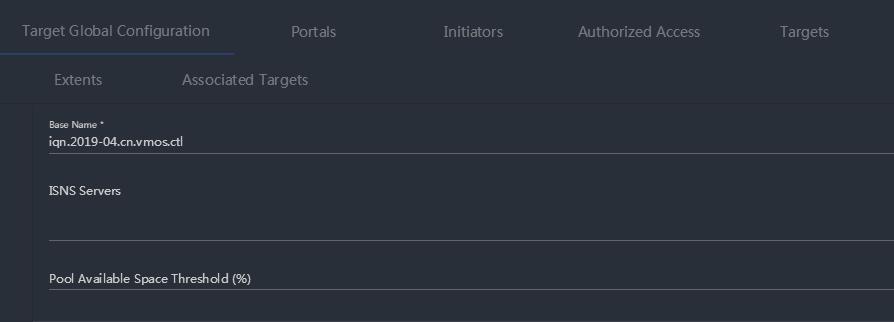 FreeNAS11.2 iSCSI块存储设置