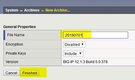 F5 Big-IP备份配置