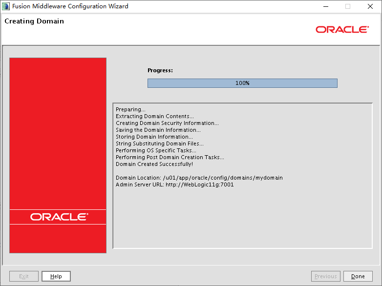 CentOS7.7 安装WebLogic Server (WLS) 11gR1