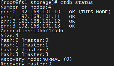 CentOS8.1 部署GlusterFS使用CTDB和Samba实现高可用