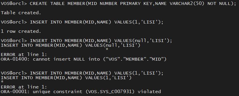Oracle12cR2学习记录2