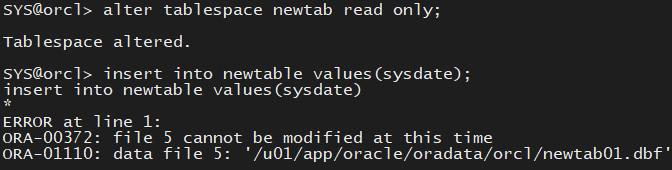 Oracle12cR2学习记录3