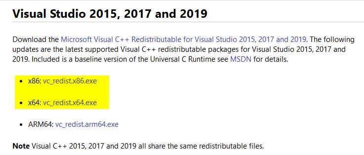 解决vs2019提示无法Microsoft.VisualCpp.Redist.14