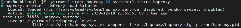 CentOS7安装RabbitMQ集群