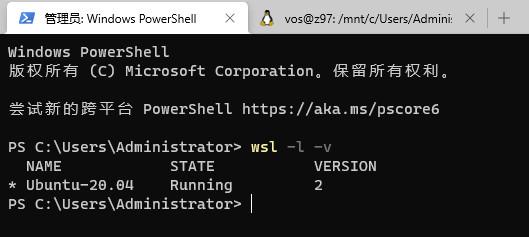 Windows10开启WSL2