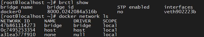 docker网络模式